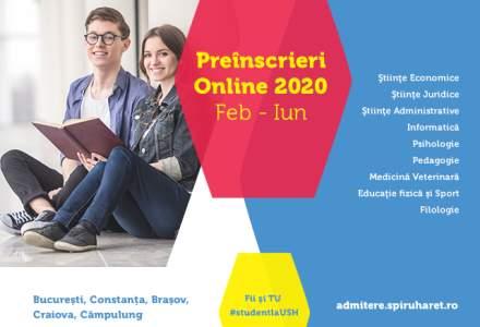 (P) Admitere on-line la cea mai mare instituţie de învăţământ superior privat din România