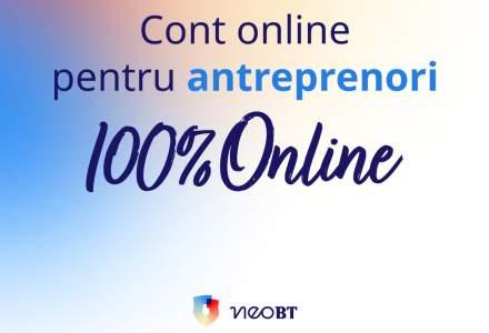 Antreprenorii își pot deschide acum conturi curente la Banca Transilvania, la distanță, prin mijloace 100% digitale