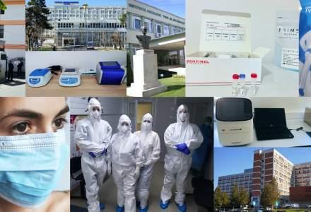 De la începutul pandemiei, E.ON a sprijinit 16 spitale implicate în lupta împotriva Covid 19