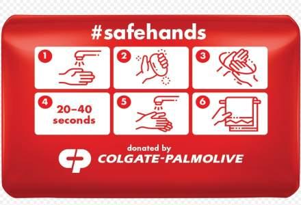 Colgate – Palmolive donează peste 65.000 de produse pentru sănătate și igienă. Spălarea corectă a mâinilor este esențială pentru a încetini răspândirea virusului
