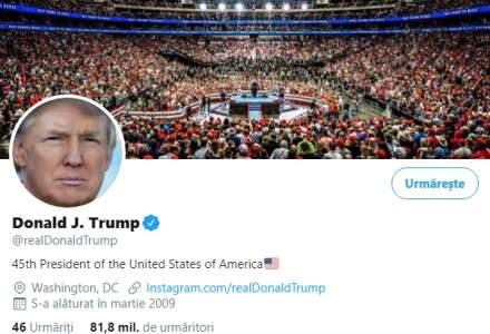 Twitter nu exclude suspendarea contului lui Donald Trump, dacă preşedintele continuă să publice mesaje care încalcă regulile reţelei sociale
