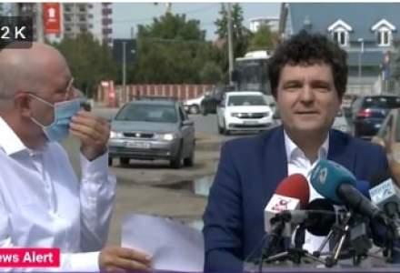 """Viceprimarul Bădulescu amenință că îi face plângere """"bodyguardului"""" lui Nicușor Dan"""