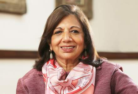 Premiul EY World Entrepreneur Of The Year 2020 a fost câștigat de Dr. Kiran Mazumdar-Shaw din India