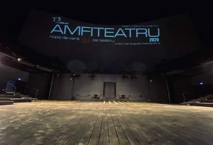 Amfiteatrul Teatrului Național București începe spectacolele în aer liber din 15 iunie. Programul reprezentațiilor de luna aceasta.