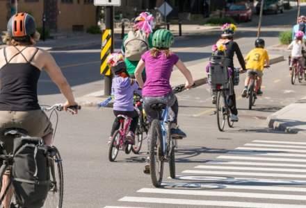 Europenii vor mai multe piste pentru biciclete şi alei pietonale pentru menţinerea aerului curat
