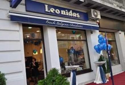 Leonidas a relocat magazinul din Pipera in Calea Victoriei cu o investitie de 40.000 euro