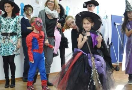 Cum s-au pregatit de Halloween elevii unei scoli private din Capitala