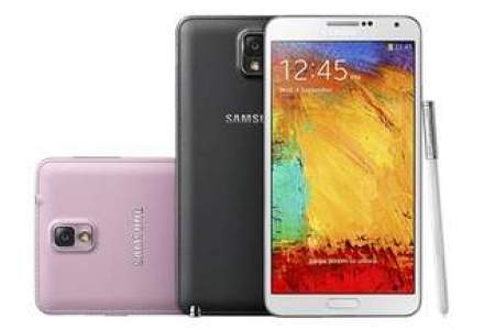 Samsung a vandut un record de 5 mil. de smartphone-uri Galaxy Note 3 in prima luna, de peste doua ori mai multe decat modelul precedent