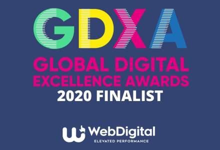 (P) WebDigital - Finalistă cu 3 proiecte la Global Digital Excellence Awards