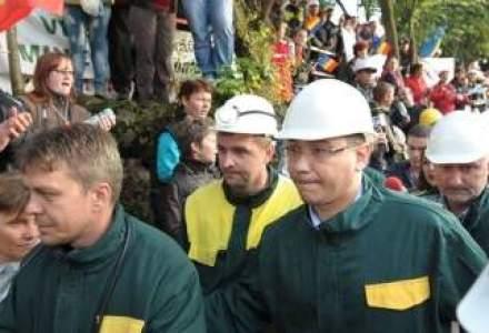 Ponta: Proiectul minier de la Rosia Montana se va face in baza Legii cadru, daca se incadreaza