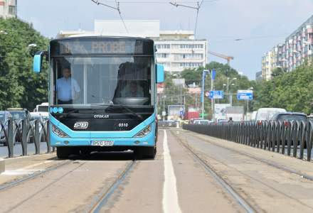 Bucureștiul are de la 1 iulie bandă unică pentru autobuze pe linia de tramvai