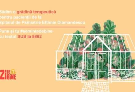 Asociația Zi de Bine construiește o grădină terapeutică pentru 200 de pacienți de la Spitalul de Psihiatrie Eftimie Diamandescu