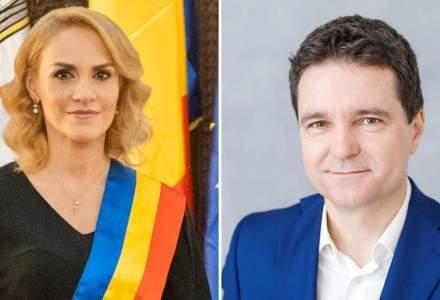 Gabriela Firea este depășită în sondajul Inscop de Nicușor Dan cu aproape 9 puncte în cursa pentru Primăria Capitalei