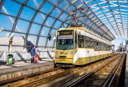 STB: Dilatarea şinelor de tramvai nu pune în pericol viaţa sau sănătatea călătorilor
