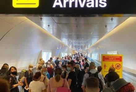Aglomerație pe Aeroportul Henri Coandă din cauza controalelor anti-Covid