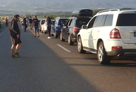 MAE: Fluxul în punctul de frontieră Kulata - Promachonas, dintre Grecia și Bulgaria, se desfăşoară normal