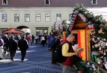 S-a deschis Targul de Craciun de la Sibiu