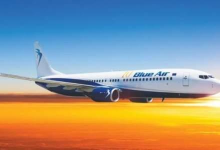 Blue Weekend: Reduceri semnificative la toate zborurile Blue Air