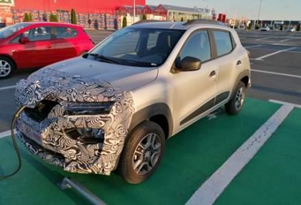 Dacia electrică / Renault K-ZE, în teste în România
