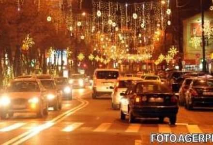 Luminitele de Craciun din Bucuresti vor fi aprinse pe 6 decembrie