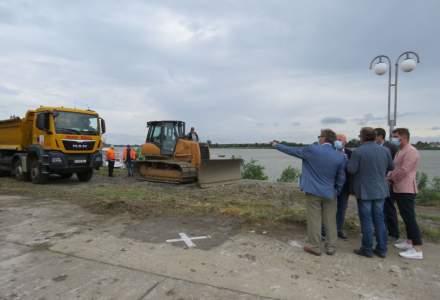 Ordinul de începere a lucrărilor pentru modernizarea portului Tulcea a fost semnat