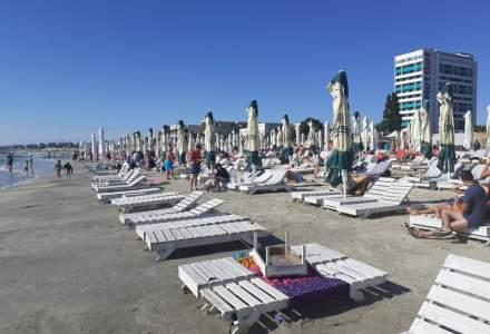FOTO REPORTAJ | Cum arată plajele din Mamaia în timpul săptămânii