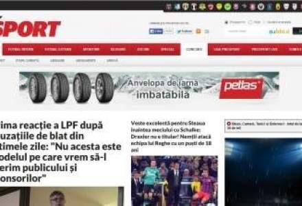 Prosport trece pe online si devine supliment al Ziarului Financiar