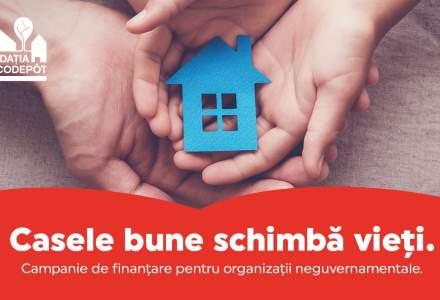 """Fundația BricoDépôt dă startul primei sale campanii de finanţare:""""Casele bune schimbă vieţi"""""""