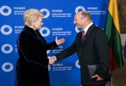 Basescu, la summit-ul de la Vilnius: UE a trecut Prutul