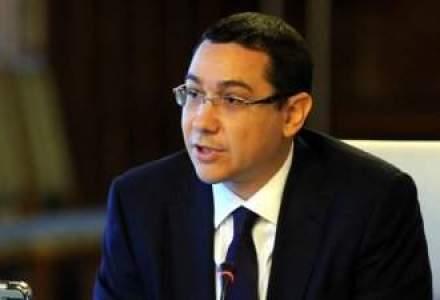 Ponta nu merge la receptia de la Cotroceni: Eu, de 1 Decembrie, mereu sunt la Targu-Jiu