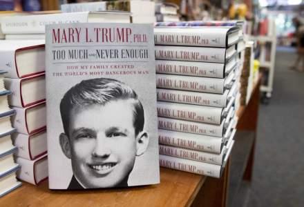 Volumul de memorii scris de nepoata lui Donald Trump, vândut în 950.000 de exemplare în prima zi de la lansare