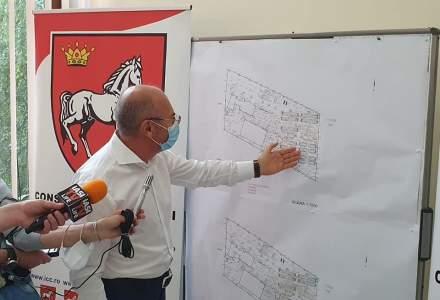 Scandal politic pe spitalul modular de la Iași, aflat în construcție de 4 luni