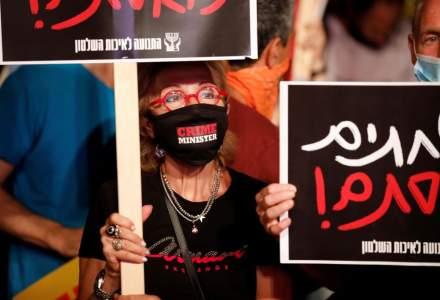 Val de proteste în Israel. Oamenii cer demisia premierului