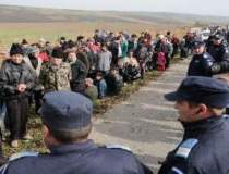 Jandarmii au intervenit DIN...