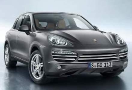 Porsche lanseaza Cayenne Platinum Edition