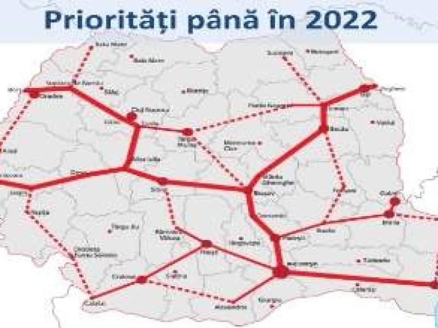 Cum Arata Harta Autostrazilor Din Romania In 2018