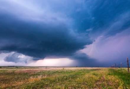 Vreme instabilă în cea mai mare parte a țării: în București vor fi 32 de grade