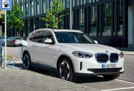 Primul SUV electric BMW poate fi comandat în România din septembrie