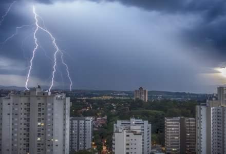 Cod galben de furtuni în peste jumătate din ţară