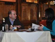 La pranz cu un antreprenor...