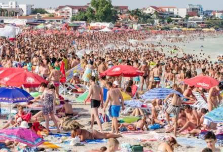 Peste 100.000 de turiști sunt așteptați în weekend la mare