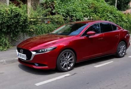 Test drive cu noua generație Mazda3 sedan 2.0 Skyactiv-G 150 CP
