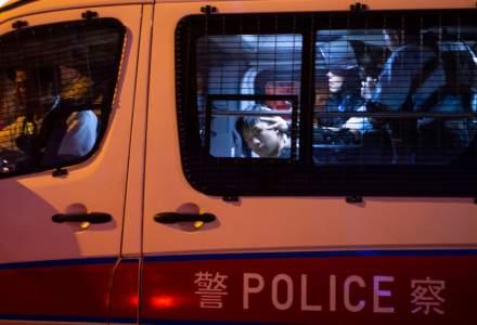 """Patru studenți care """"promovau independența Hong Kongului"""" au fost arestați"""