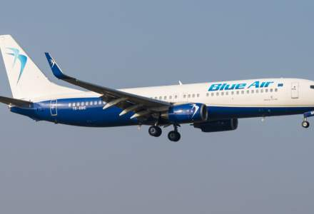 Blue Air introduce zboruri noi din România