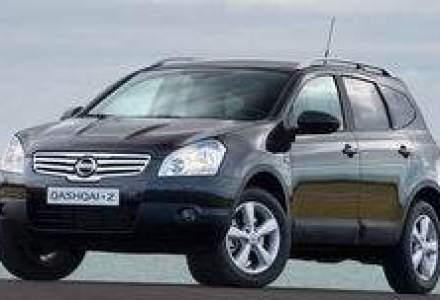 Noul crossover Nissan Qashqai+2 este disponibil in Romania, de la 21.250 euro cu TVA