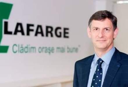 Noul CEO Lafarge: Marjele din anii de boom nu se vor mai intoarce. Prima parte a anului urmator va fi si mai dificila