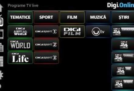 RCS&RDS isi lanseaza in weekend platforma de divertisment Digi Online