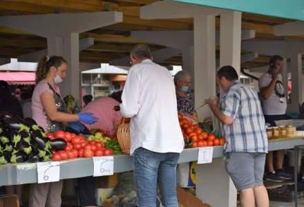 Masca de protecție devine obligatorie în spaţii deschise, respectiv pieţe şi târguri, în Satu Mare