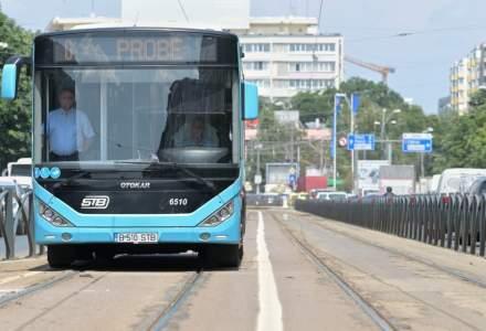 """Încă o """"revoluție în trafic"""". Gabriela Firea anunță că trei autobuze vor circula pe linia tramvaiului 21"""