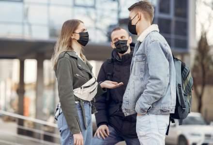 În alte două județe masca trebuie purtată și în aer liber, în zonele aglomerate
